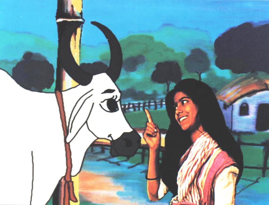A still from 'Deepa and Rupa: A fairytale from India'
