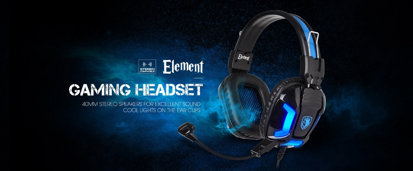 Sades Element Headset Review