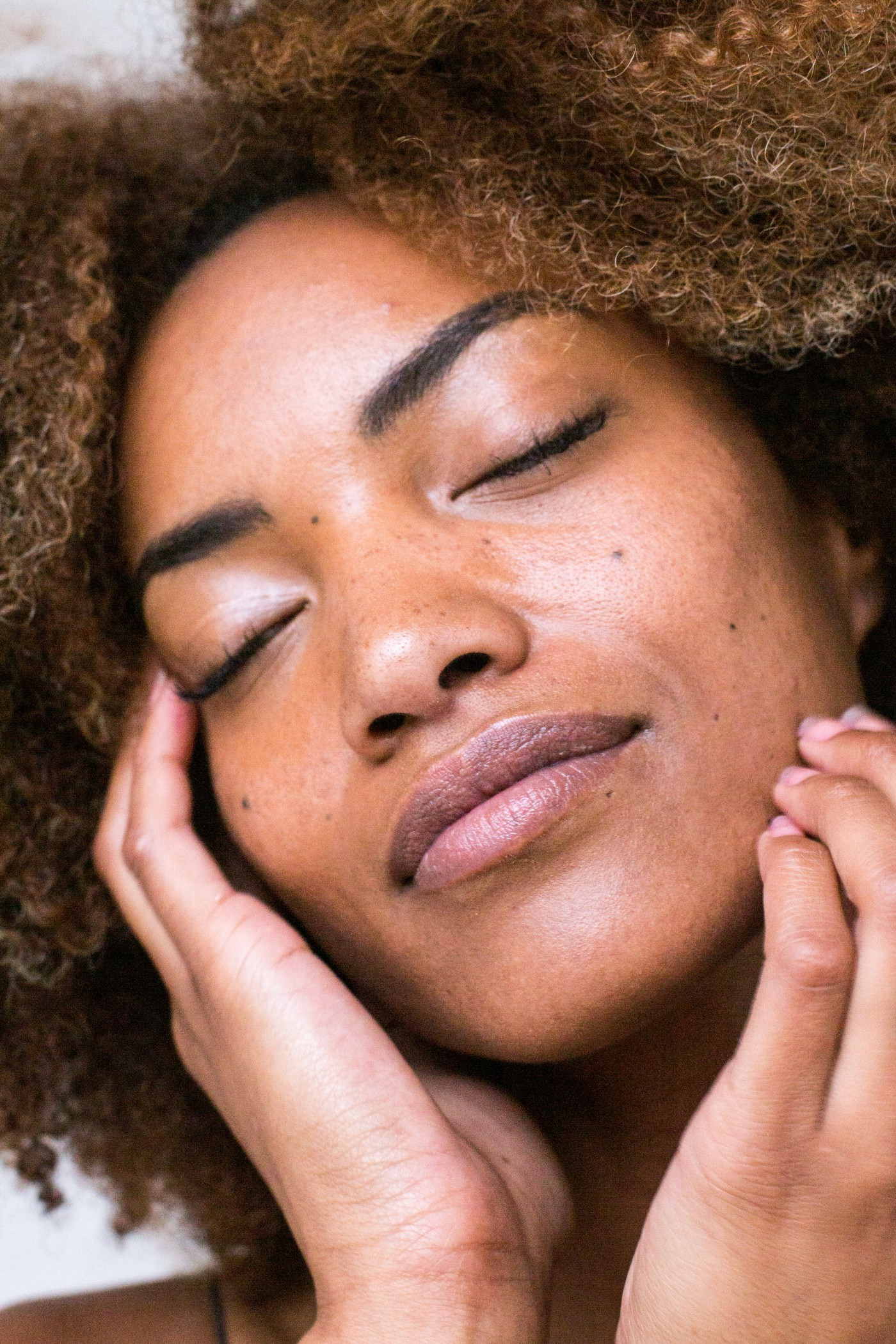 Skin tags can be removed from around the face and eyelids.