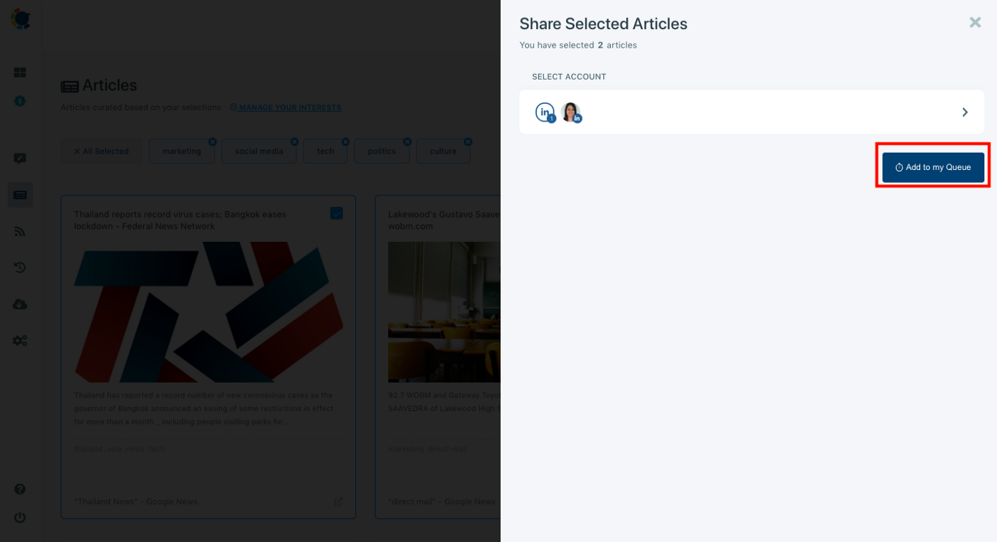 You can manage multiple LinkedIn accounts on a single dashboard with Circleboom.