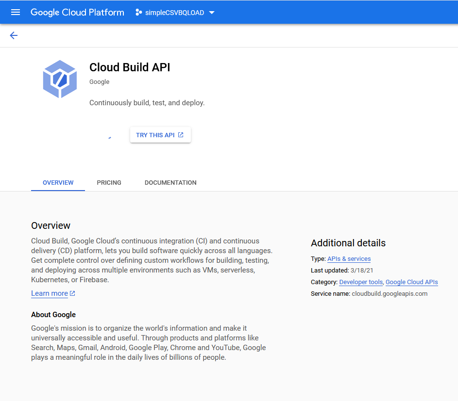 umair-akbar-0*rWp6X8JL21COo3W7 - End-to-end automated Analytics workload using Cloud Functions — Data Fusion — BigQuery and Data Studio