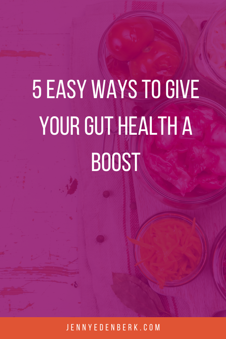 boost your gut health