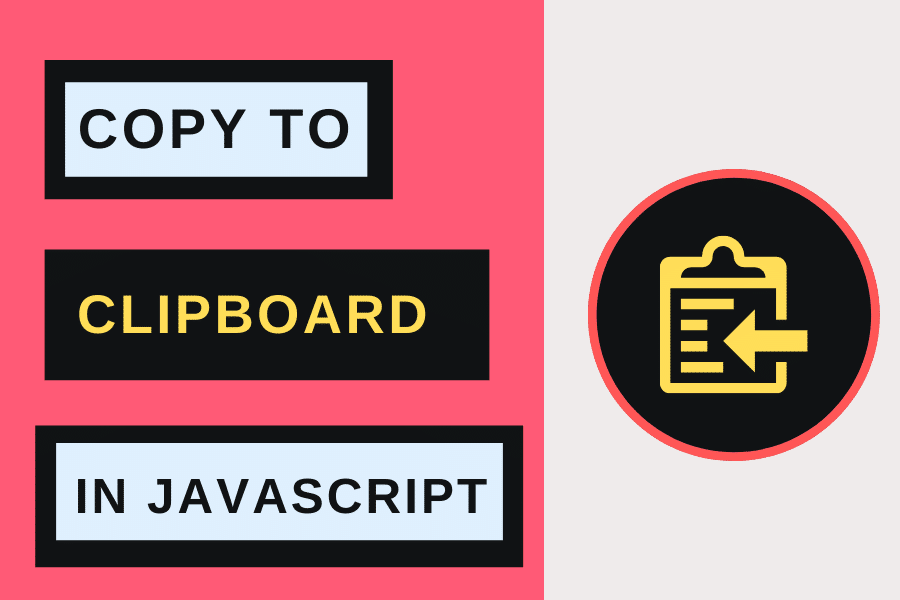 Copy To Clipboard With Javascript
