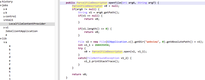 Android Development Security — Provider Component Security