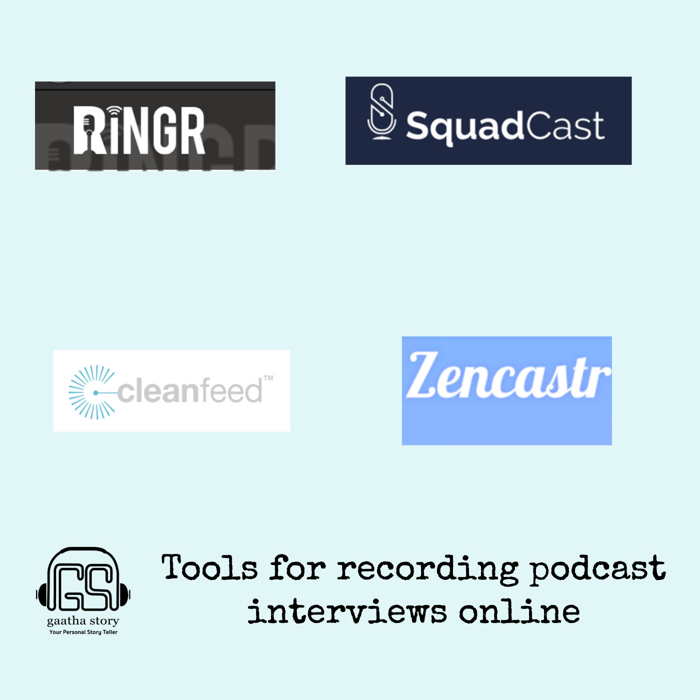 Image showing Paid tools for Podcast Recording. Blog by Amar Vyas on Podcasting