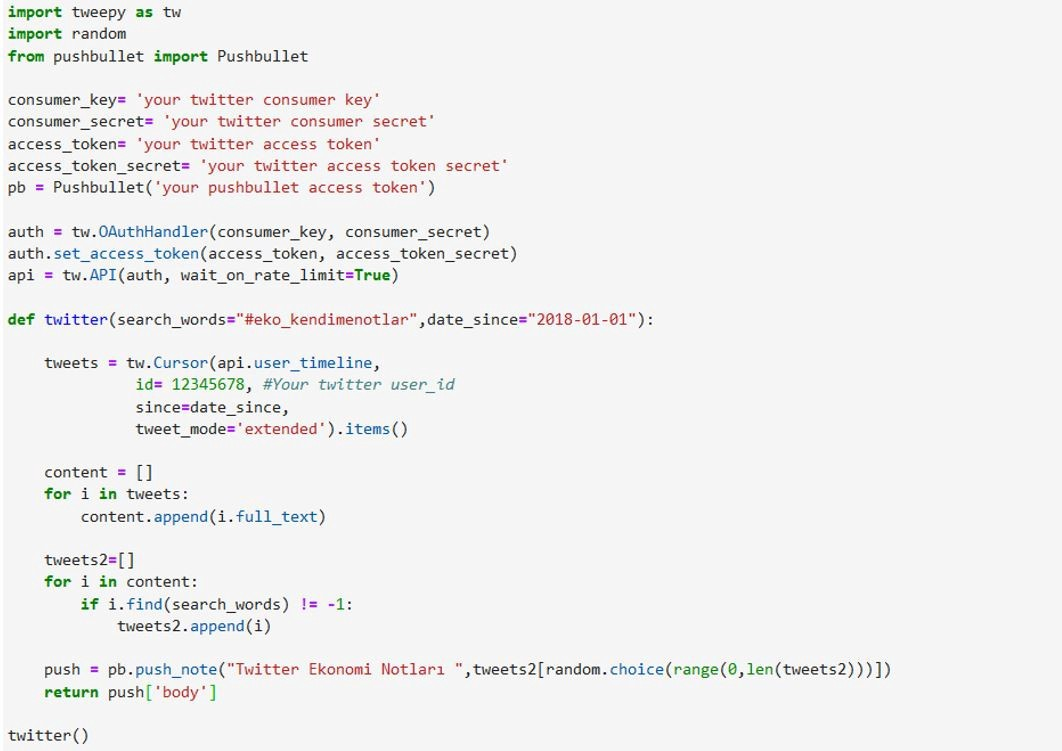 Mobile Push Notification with Python on Twitter API Study   by ...