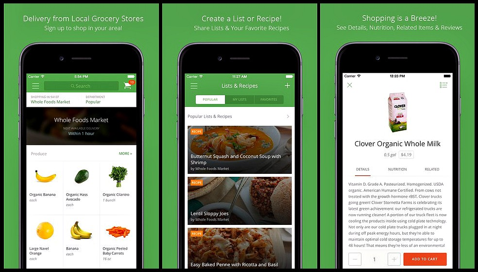 Insights of Apps Like Instacart - The Startup - Medium