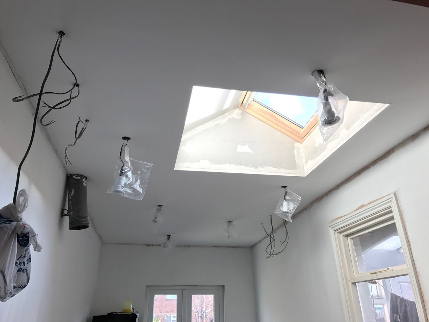 Cheat Way to plastering a ceiling