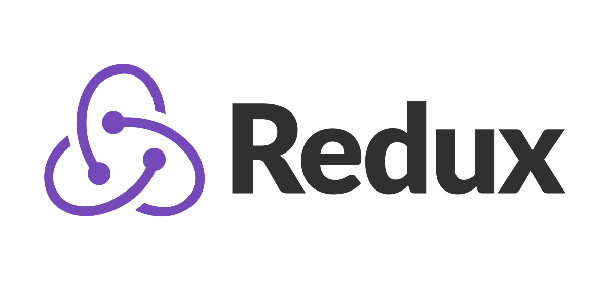 Redux logo consisting of three swirling lines on the left and the word Redux on the right