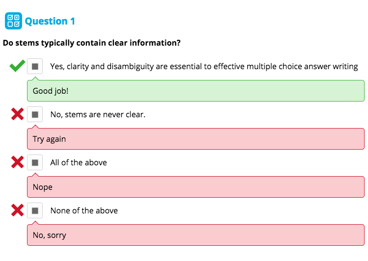 A defence of multiple choice questions - Stile Blog - Medium