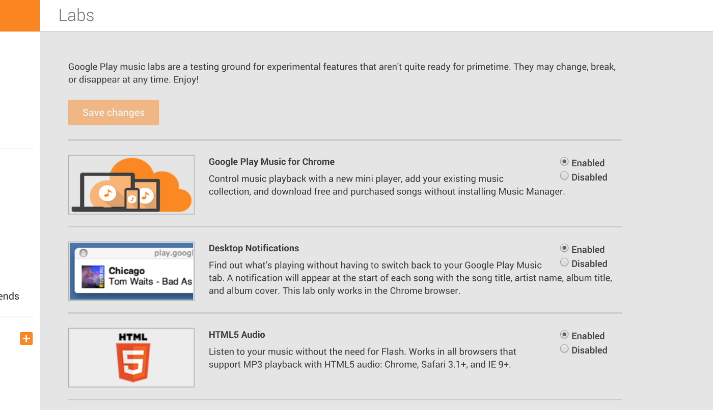 Upload Songs to Google Play Music via Chrome Browser