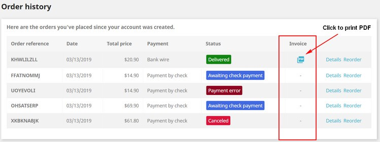 How to generate, modify Invoice, Delivery, Credit Slip, Supply Order