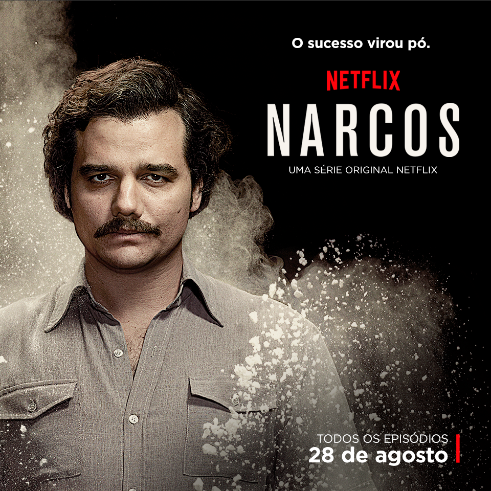 Narcos latin-flavored