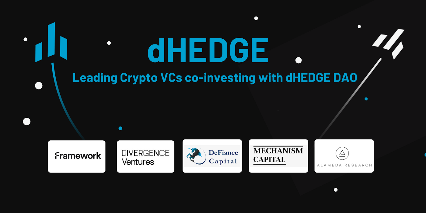dHEDGE announced will receive collectively $1.15 million investment into its fund managers' pools
