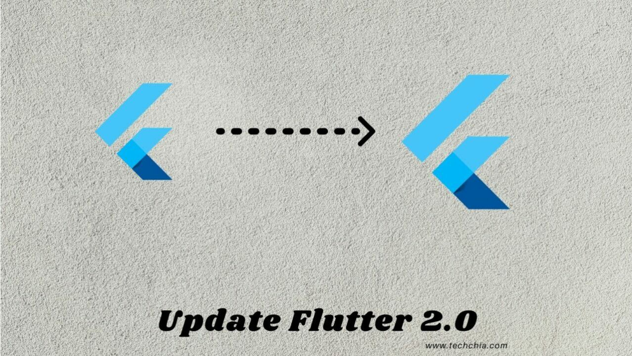 How to update Flutter 2.0