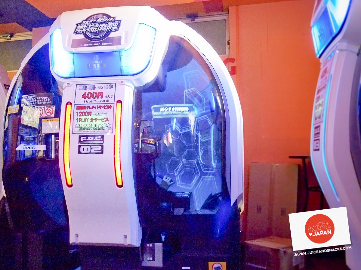 Fully-encapsulated immersive video arcade cabinet