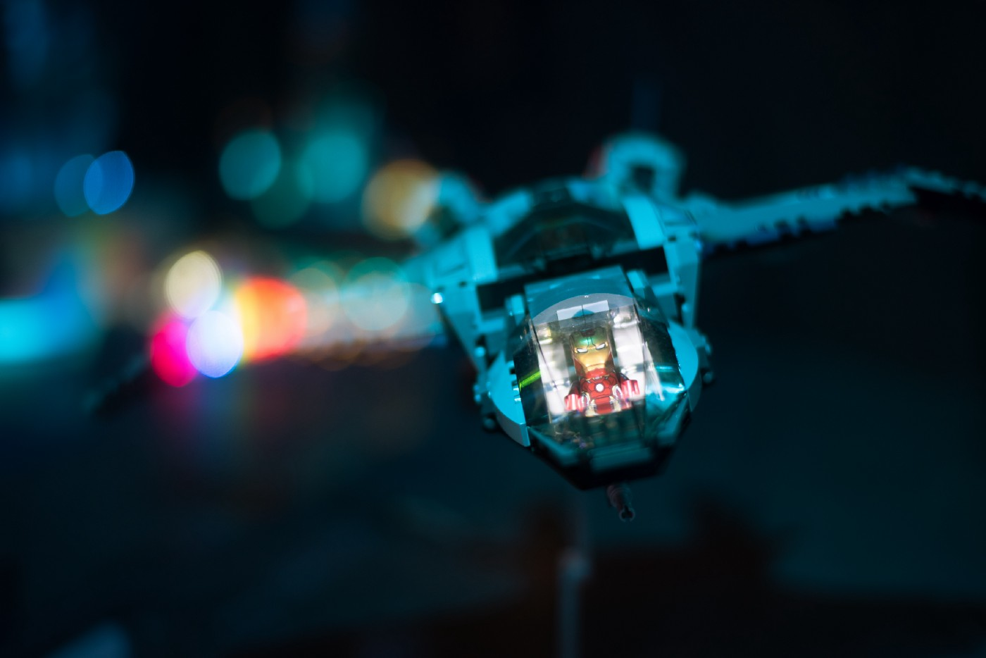 Starship from lego blocks picture
