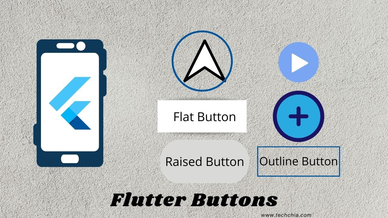 Flutter Buttons with example