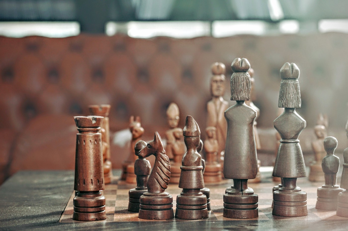 Management sometimes feels like a game of chess.