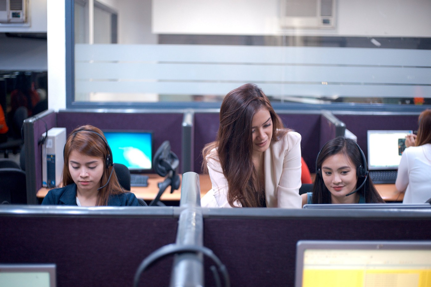 well trained agents at One Contact Center