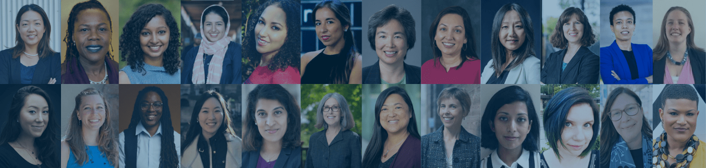 Speakers from the 2021 Women in Tech Symposium on The New Era of Human Computer Interaction presented by the EDGE in Tech Initiative at UC