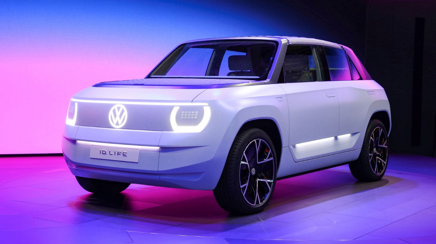 Volkswagen ID. LIFE previews €20,000 small EV
