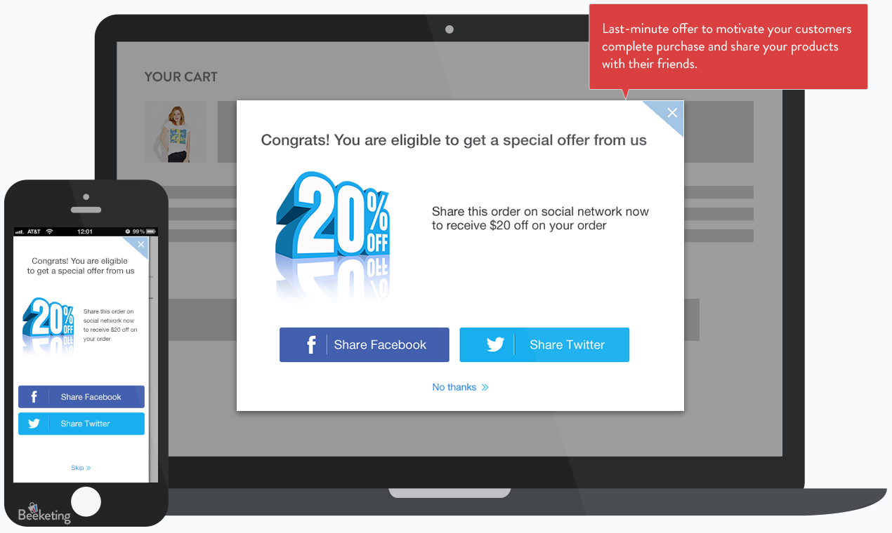 994061285da At the same time, Checkout Boost helps you optimize two steps in your sales  funnel: bring more traffic from word-of-mouth marketing, and improve  checkout ...