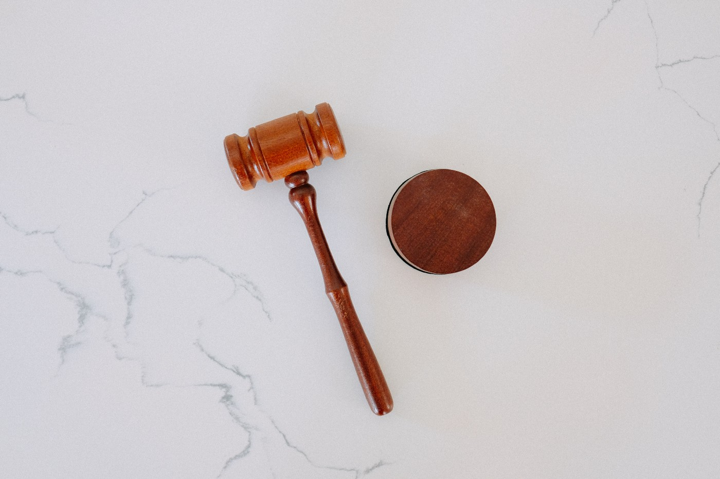 A judge's gavel.