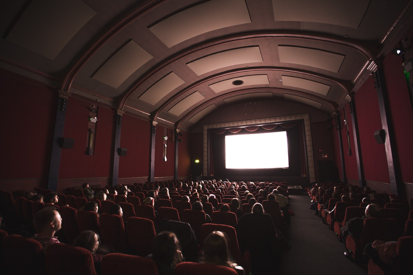 Large theater with audience