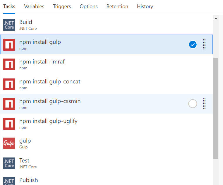 steps for setting up website deployment on visual studio online