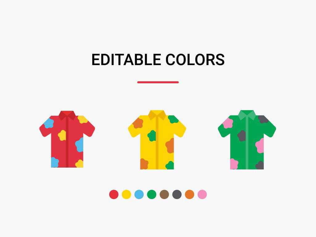 Edit icon colors with icon editor
