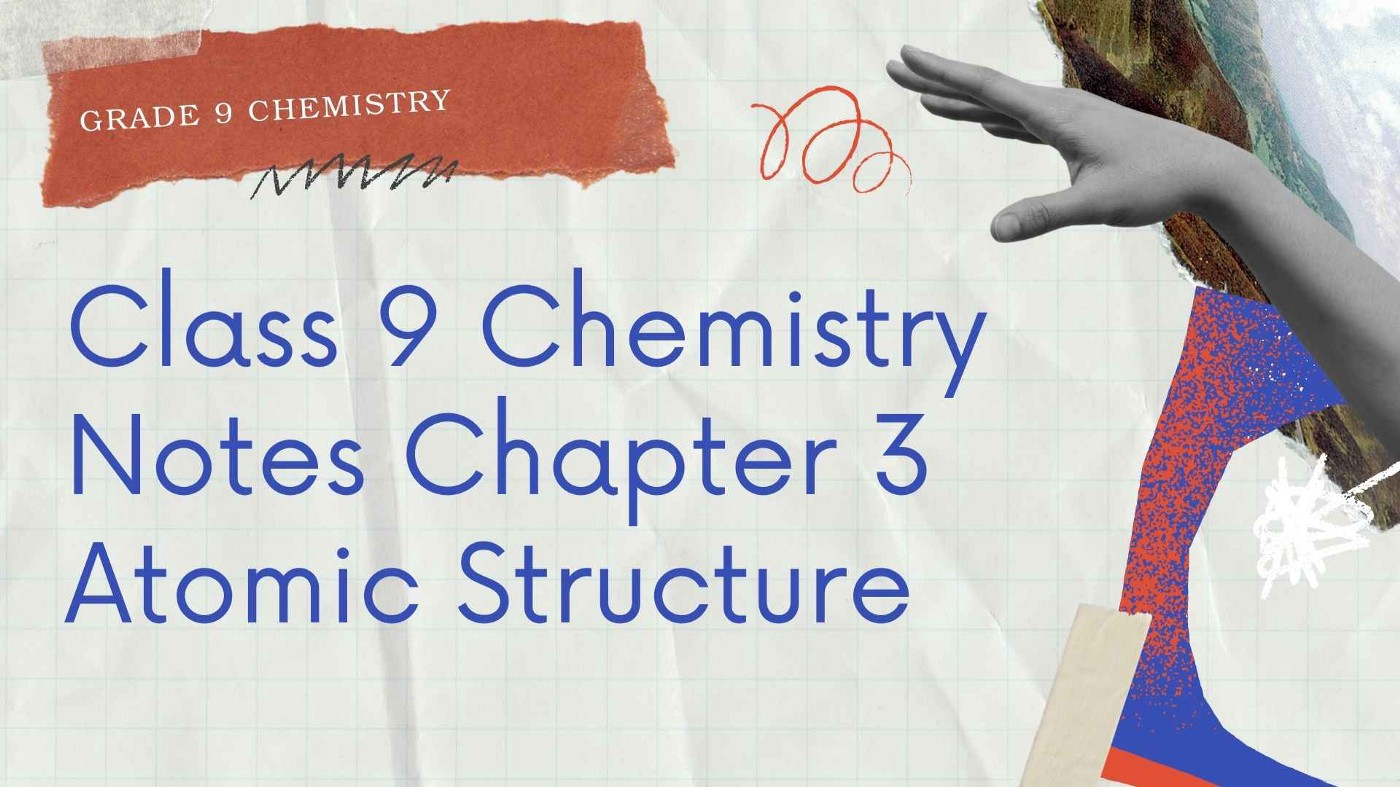 Long Questions Sindh Class 9 Chemistry Notes Chapter 3 Atomic Structure