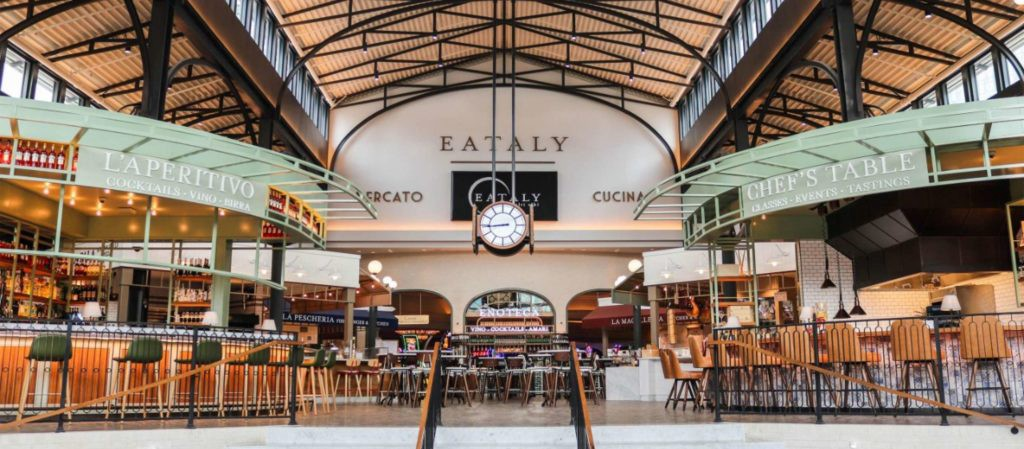 Eataly food court in Park MGM Las Vegas