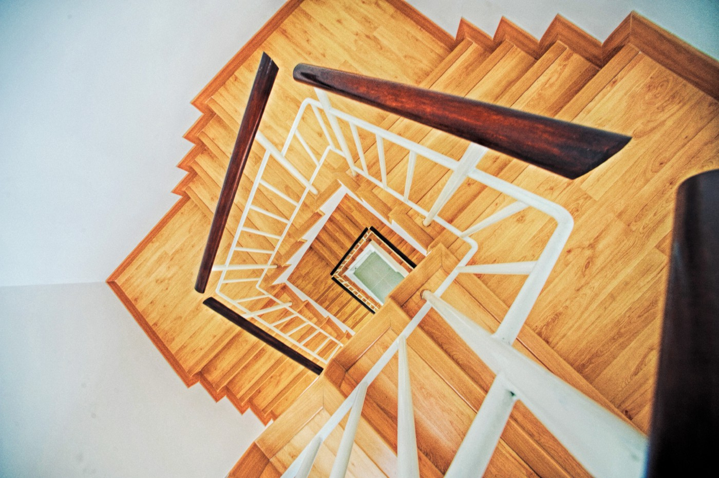 Image of never-ending stairs.