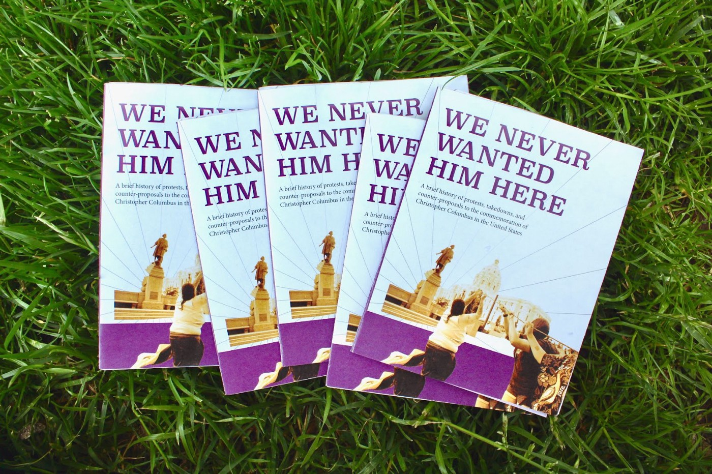 """""""We Never Wanted Him Here"""" Columbus Zines, On Grass"""