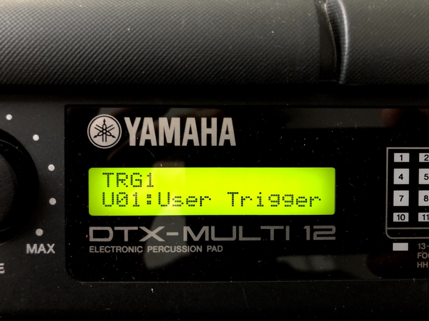 First steps with Yamaha's DTX Multi 12 drum pads - Adrien Joly - Medium