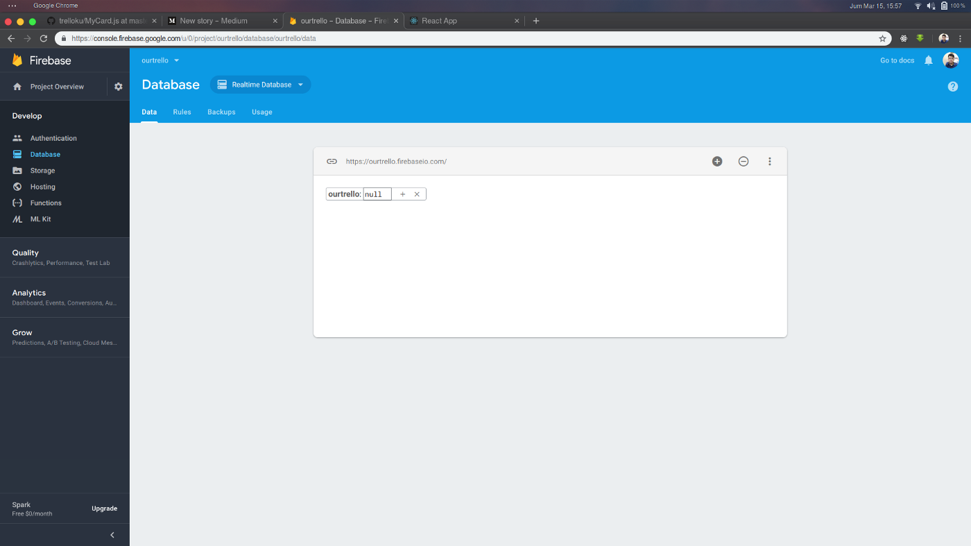 Trello clone with ReactJS and Firebase - Ikhda Muhammad Wildani - Medium
