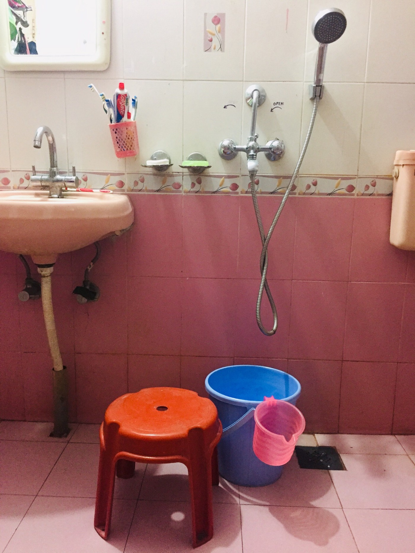 Bucket Baths. They beat bathtubs and showers hollow | by Tooth Truth Roopa  Vikesh | The Haven | Medium