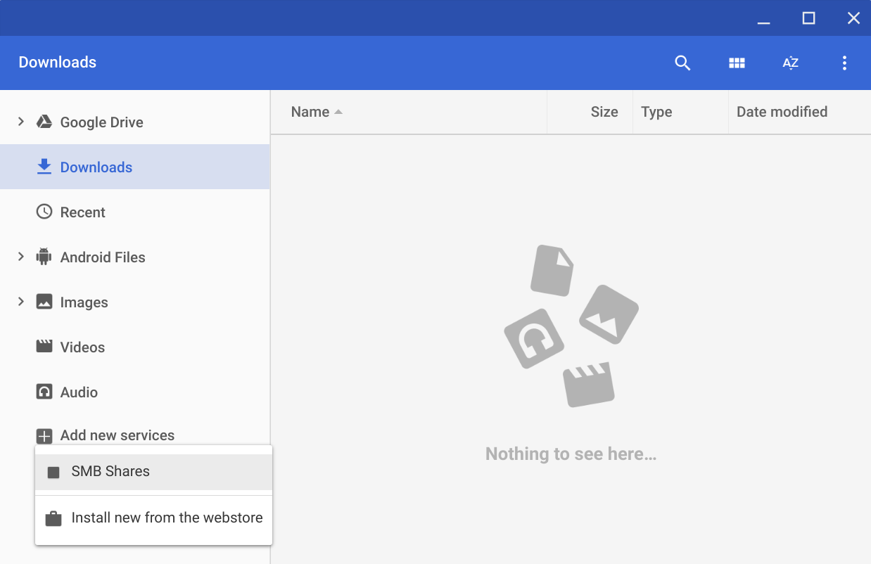 How to use Chrome OS's native Samba client - brismuth's blog