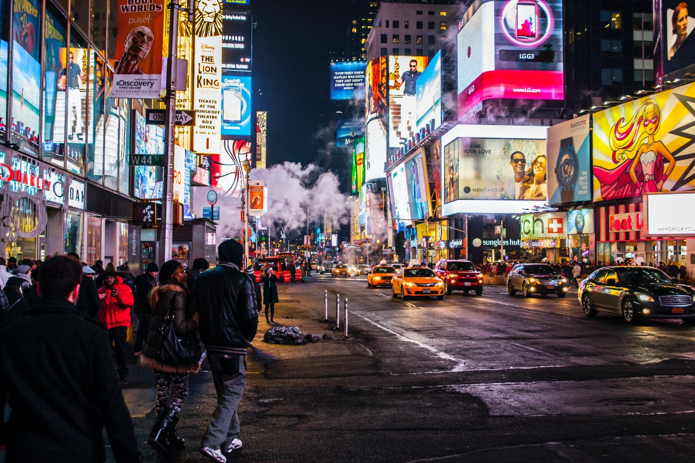 """""""Times Square never shined so bright"""" by Nicolai Berntsen on Unsplash"""