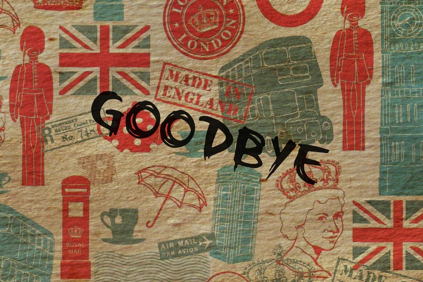 Goodbye from Brexit