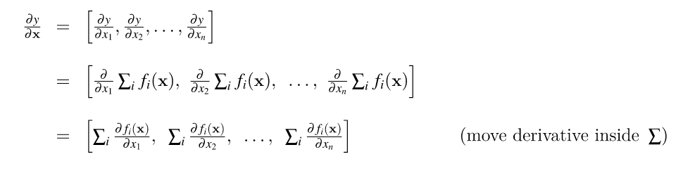 The Matrix Calculus You Need For Deep Learning (Notes from a paper