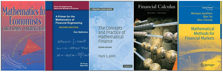 The complete list of books for Quantitative / Algorithmic / Machine