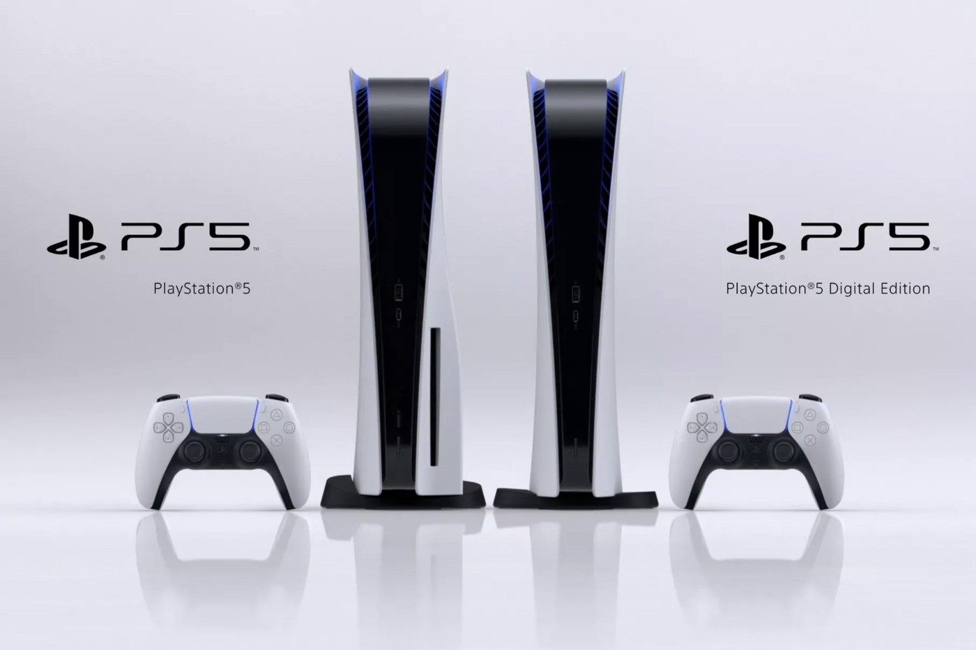 Announcement of Sony PlayStation 5 and Sony PlayStation 5 Digital Edition consoles.
