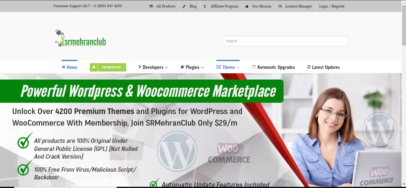 Srmehranclub com - Best deal Wordpress Premium theme & plugin 2019