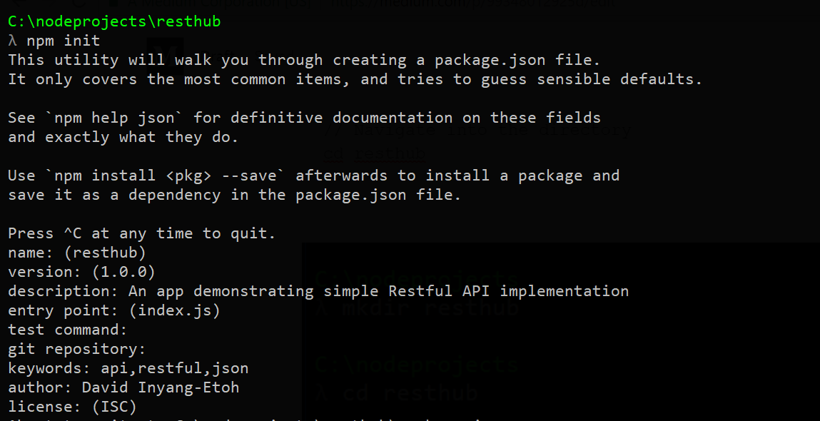 How To Build Simple RESTful API With NodeJs, ExpressJs And MongoDb