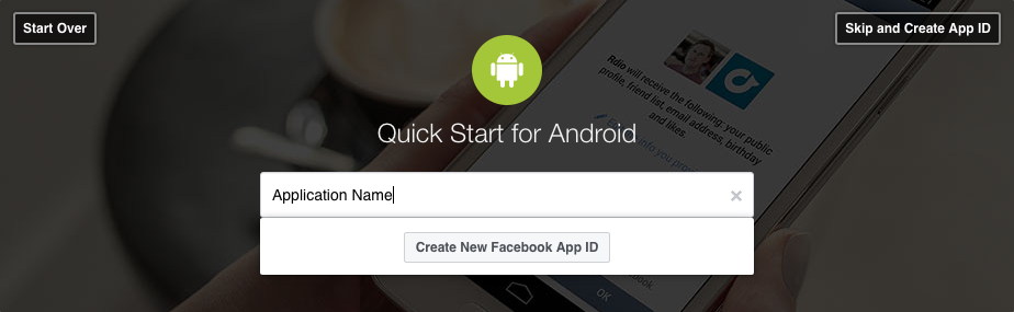 Get email id from facebook android