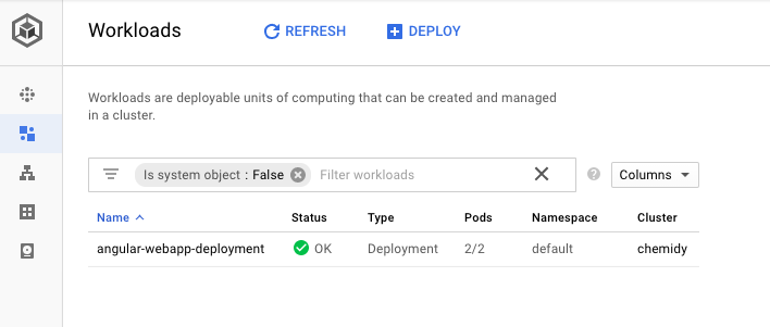 Deploy a webapp with GKE and GCE ingress with ip restriction