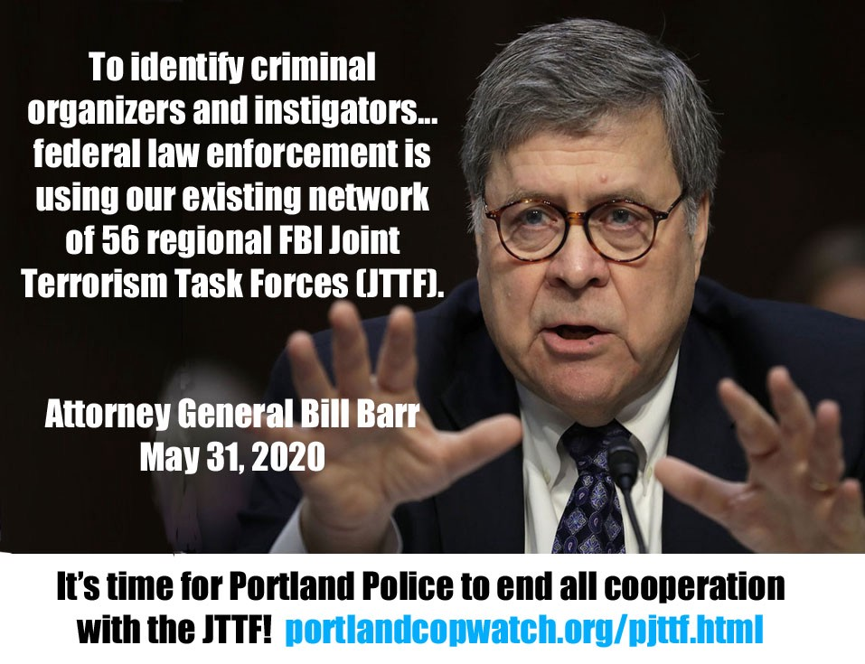 Attorney General Bill Barr, May 31, 2020