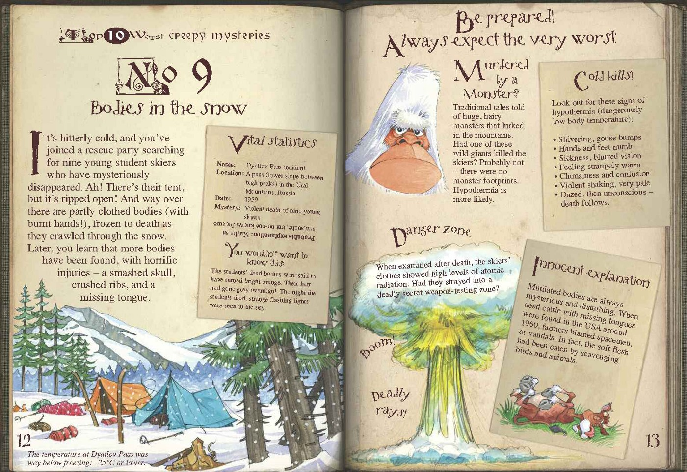 Yetis are REAL?! Better get prepared! - Brainwaves from Book